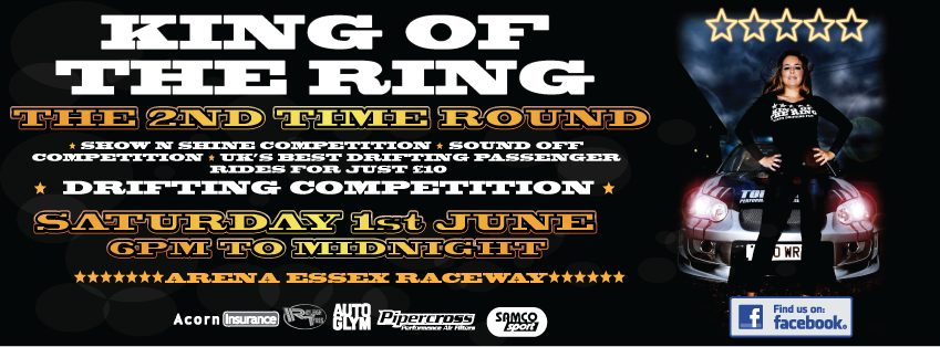 King of the Ring drift event