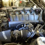 M52 Inlet Manifold fitted