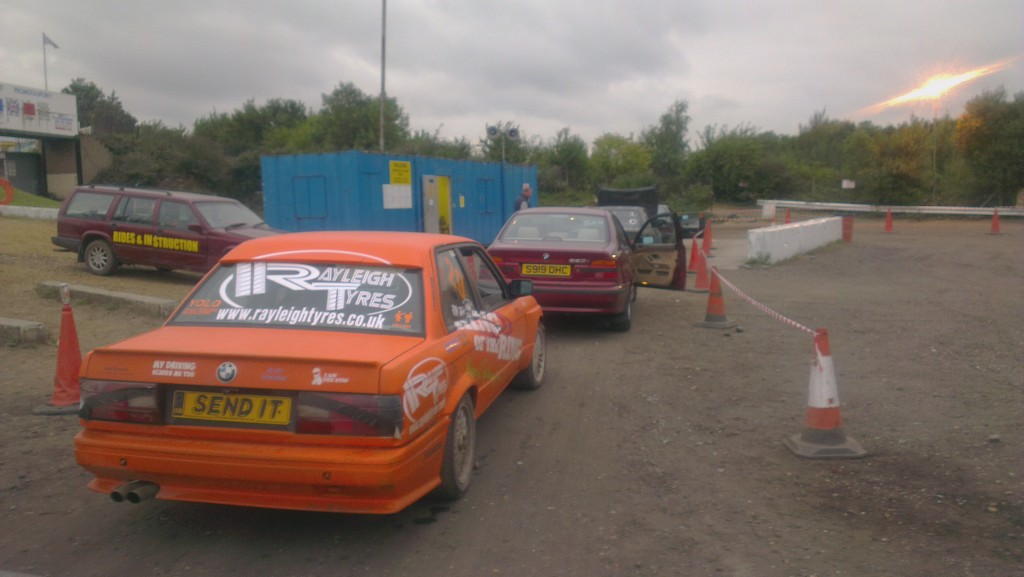 drifting at essex arena