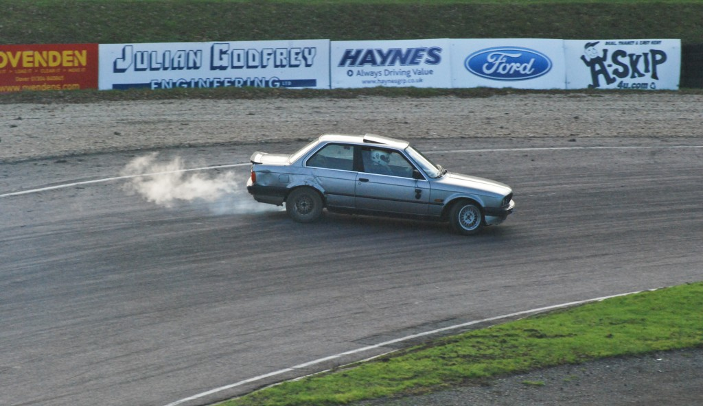 T Dirte at Lydden Hill Drifting